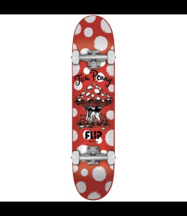 Flip Complete Penny Dots Red 8.13-32 Skateboard