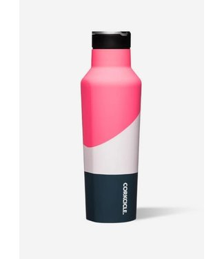 Corkcicle Corkcicle 20oz Sport Canteen Electric Pink