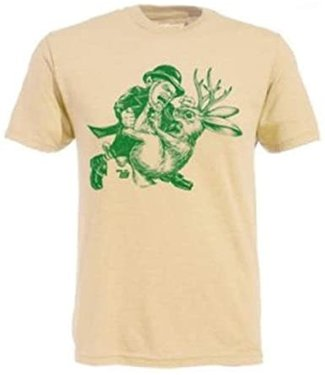 Ames Bros Ames Bros Leprechaun vs Jackelope T-Shirt