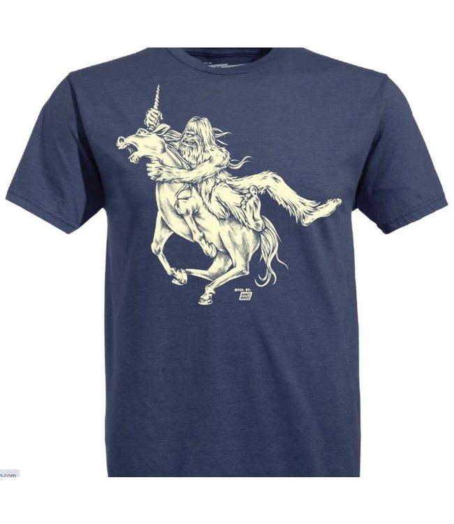 Ames Bros Bigfoot vs Unicorn T-Shirt