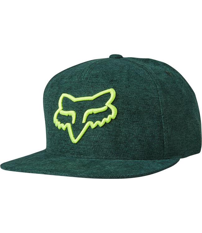 Fox Instill Snapback Hat - Emerald