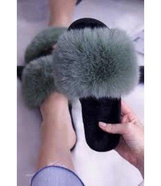 Angeleye Slipper with Faux Fur