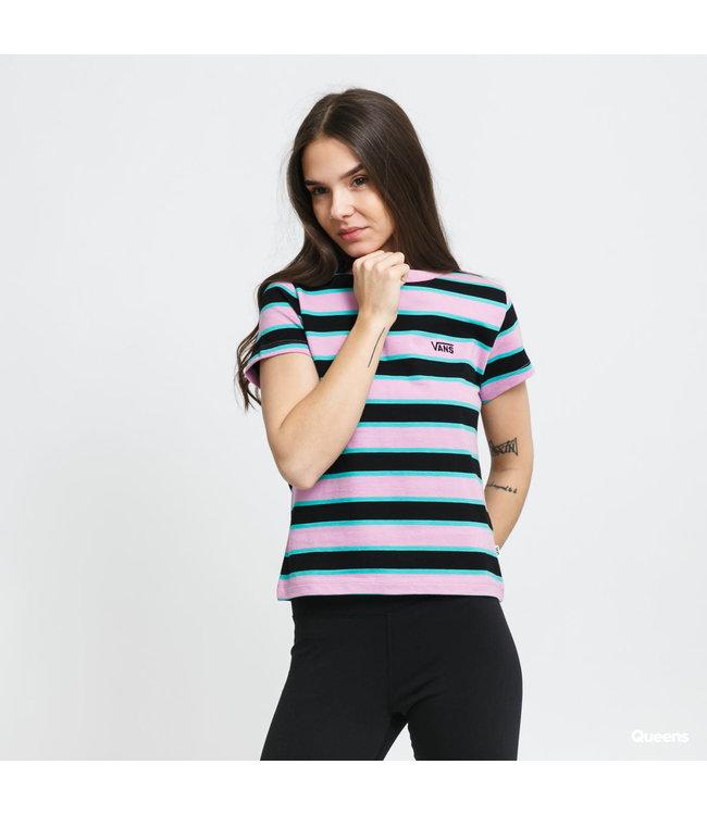 Vans Womens  Big Stripe Tee