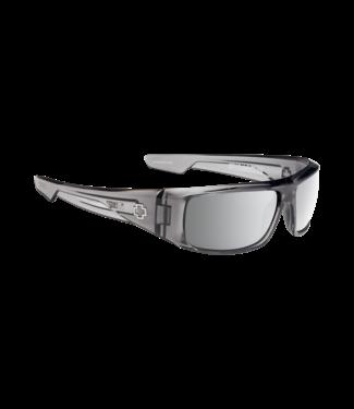 Spy Spy Logan Clear Smoke Happy Gray Green W/Silver Mirror