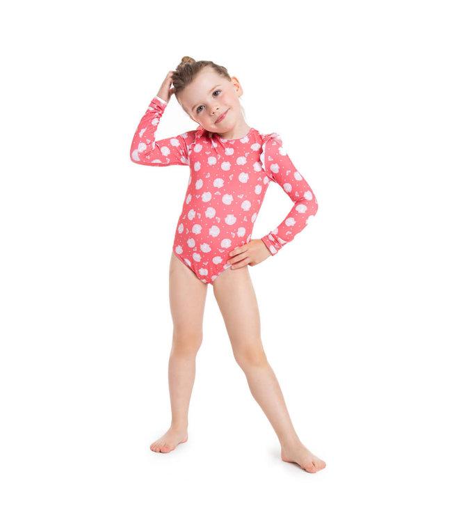 Roxy Teeny Everglow Long Sleeved Swimsuit