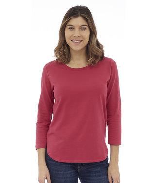 DKR DKR 3/4 Sleeve Shirt w/ Tail Hem