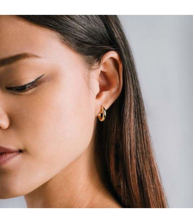 Lovers Tempo Bea 15mm Hoop Earrings