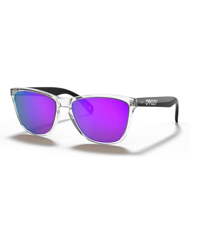 Oakley Frogskins 35th Polished Clear w/Prizm Violet