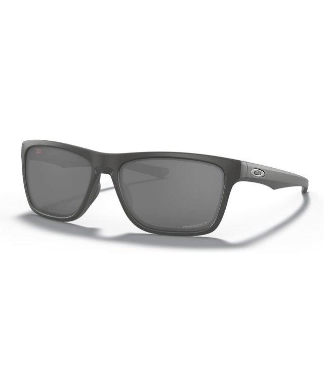 Oakley Holston Matte Dark Grey w/Prizm Black Polarized