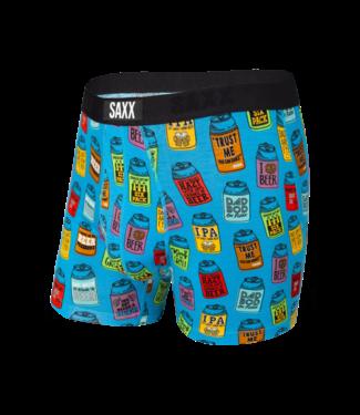 SAXX SAXX Vibe Boxer Brief - Blue Dad Joke Koozies