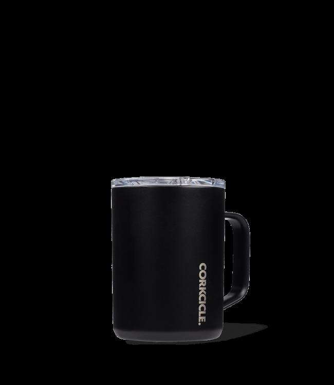 Corkcicle 16oz Coffee Mug Matte Black