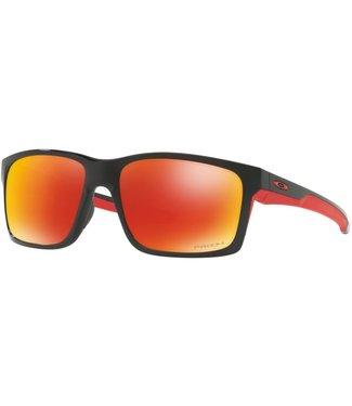 Oakley Oakley Mainlink Polished Black w/Prizm Ruby Polarized