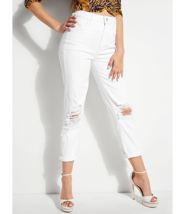 Guess Womens Mom Jean