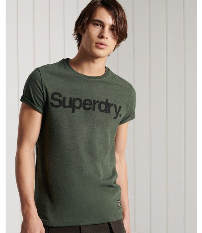 Super Dry Mens Military Graphic Tee