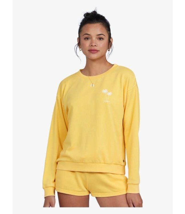 Roxy Womens Surfing By Moonlight Sweatshirt
