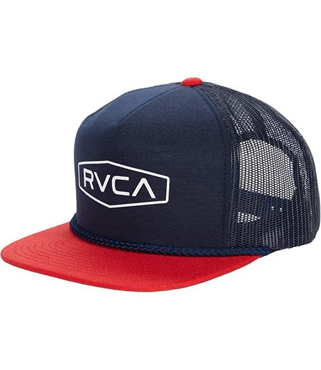 RVCA Mens Staple Foamy Trucker Hat