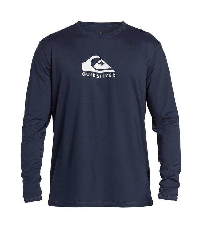 Quiksilver Mens Solid Streak Long Sleeve Surf Shirt