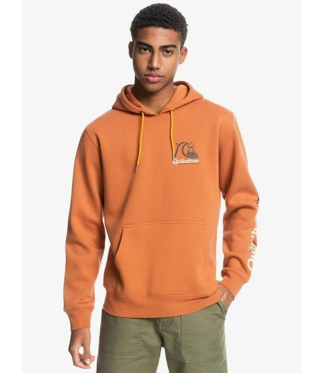 Quiksilver Mens First Up Recycled Hoodie