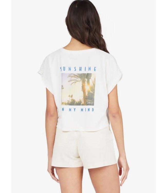 Roxy Womens Vintage Photo T-Shirt