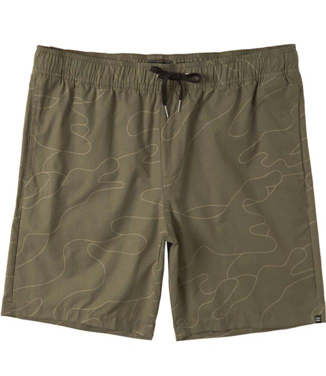 Billabong Mens Surftrek Perf Elastic Shorts
