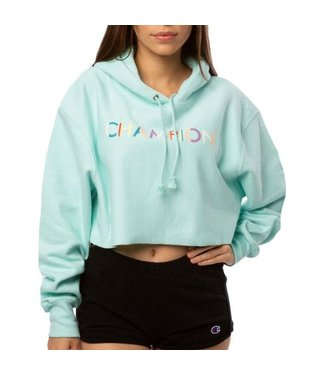 Champion Champion Womens Cropped Reverse Weave Hoodie