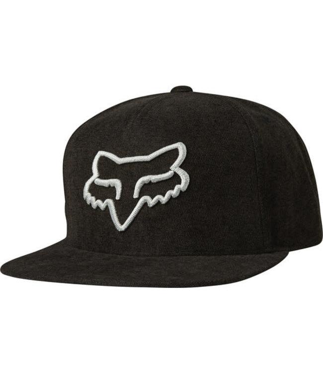 Fox Instill Snapback Hat - Black/Grey