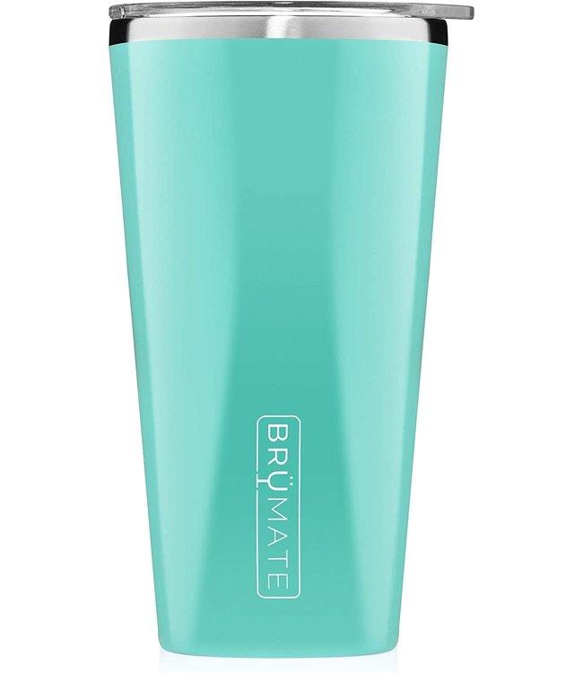 BruMate Imperial Pint 20oz Aqua
