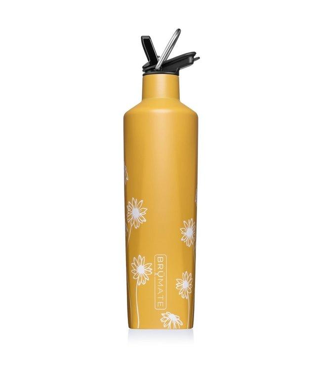 BruMate 25oz ReHydration Bottle Sun Daisy