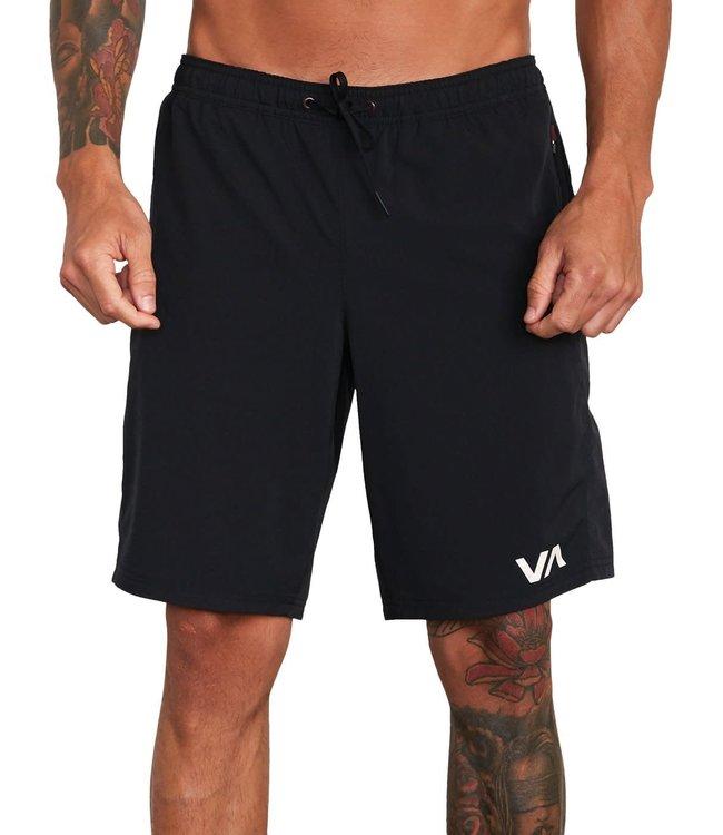 """RVCA Mens Yogger Flex 19"""" Shorts"""