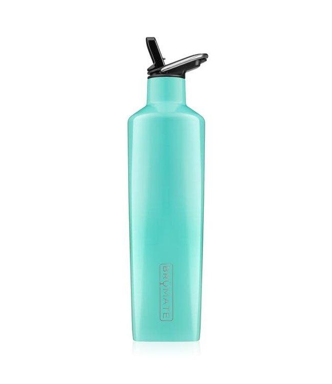 BruMate 25oz ReHydration Bottle Aqua