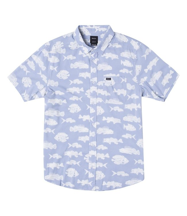 RVCA Mens Horton Fish Shirt