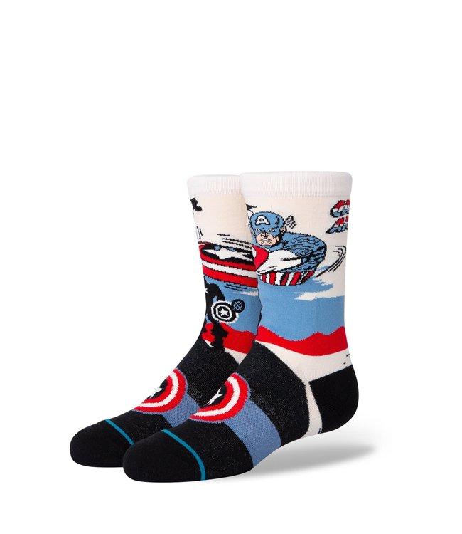 Stance Kids Casual Sock Captain America