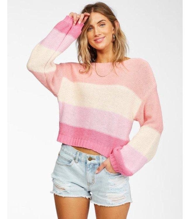 Billabong Womens Seeing Stripes Sweater