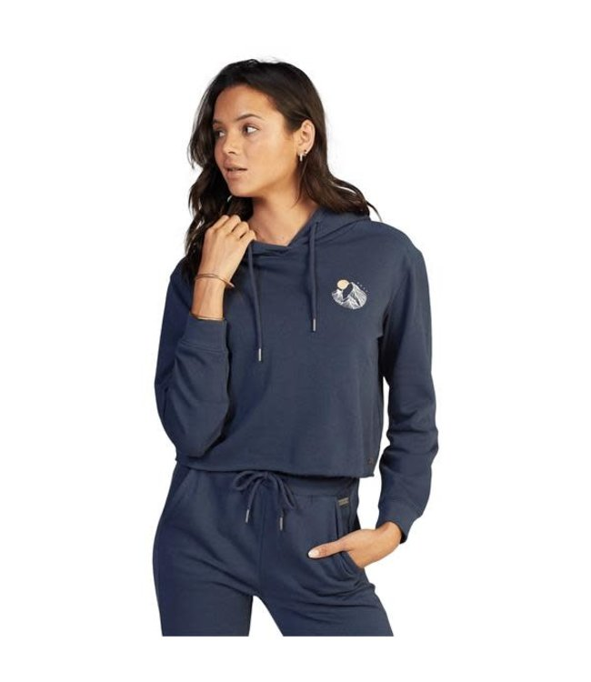 Roxy Easy Afternoon Cropped Hoodie