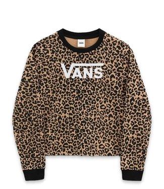 Vans Vans Girls Leopard Crew