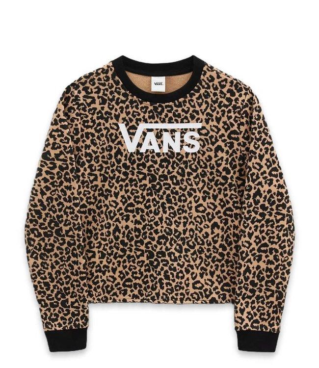 Vans Girls Leopard Crew