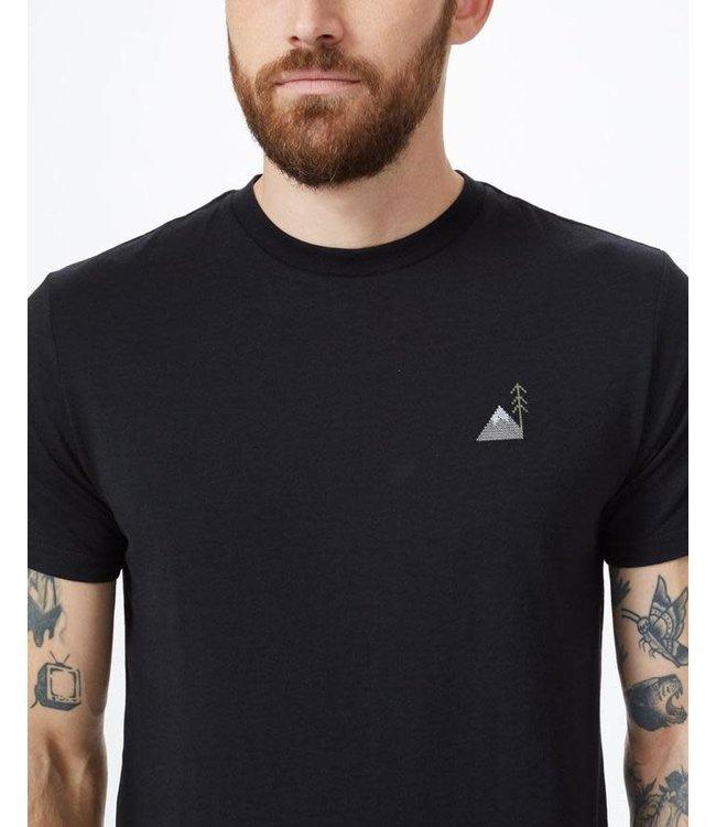 Ten Tree Men's Peaks Embroidery T-Shirt