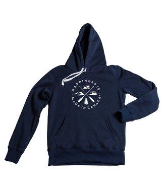 Happiness Is... Happiness is Crest Unisex Hoodie