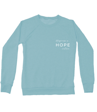 Happiness Is... Happiness is Hope & Love Crewneck