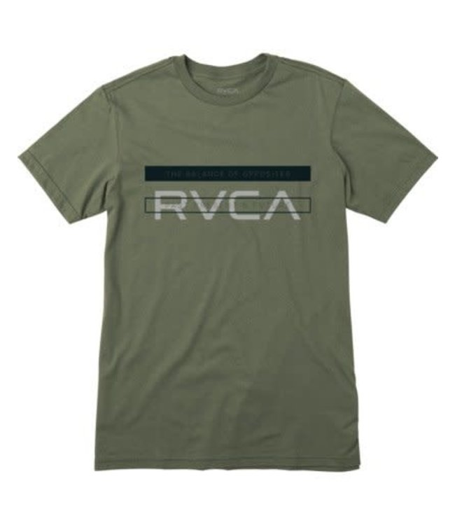 RVCA Youth Two Bar T-Shirt
