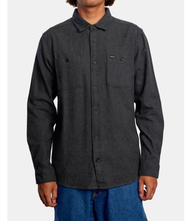 RVCA Men's Harvest Flannel Shirt