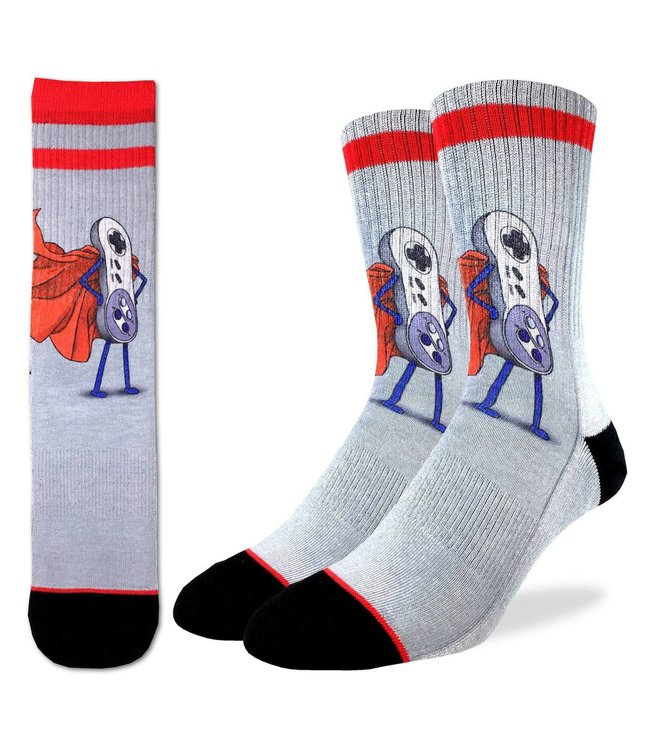 Good Luck Sock Men's Super NES Socks Size 8-13