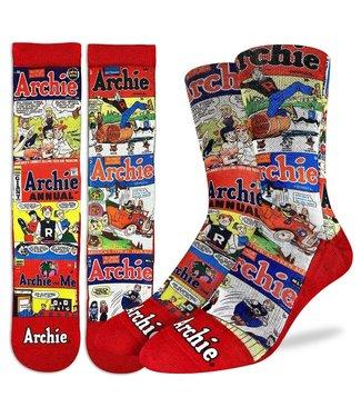 Good Luck Sock Men's Archie Comic Socks Size 8-13