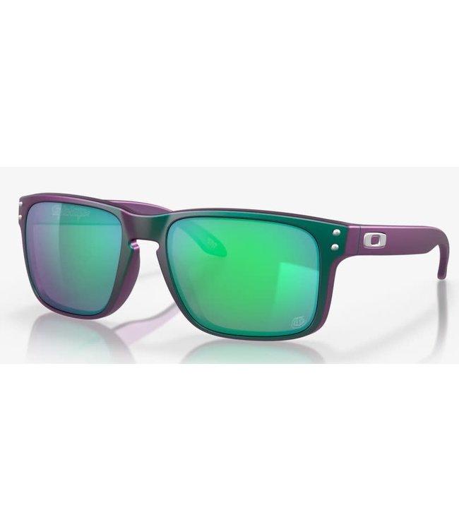 Oakley Holbrook TLD Matte Purple Green w/ Prizm Jade