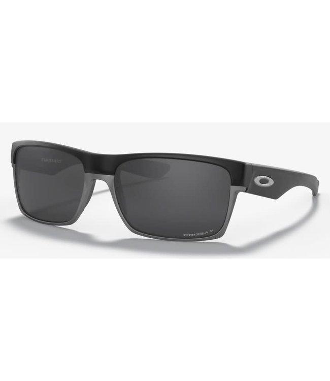 Oakley Twoface Matte Black w/Prizm Black Polarized