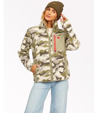 Billabong Billabong Women's Switchback Full Zip Fleece