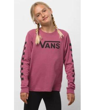 Vans Vans Girl's Flying V Long Sleeve Shirt