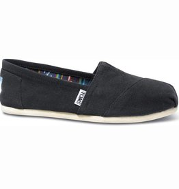 Toms Toms Womens Classic Black Canvas