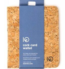 Ten Tree Ten Tree Cork Card Wallet