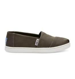 Toms Toms Youth Classic Tarmac Olive